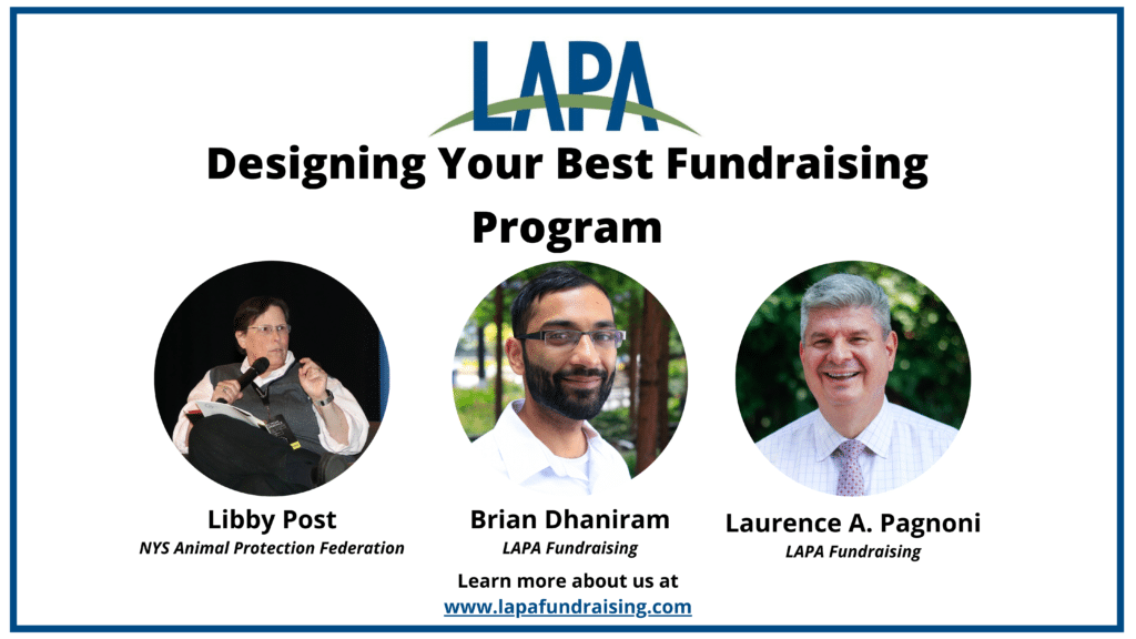Designing Your Best Fundraising Program