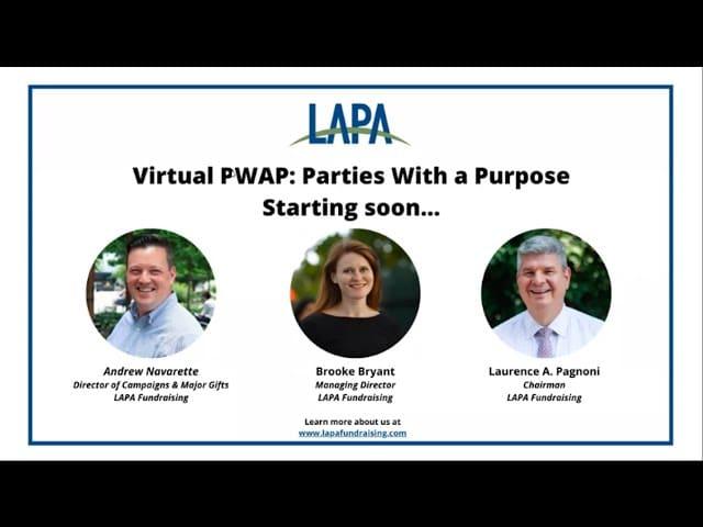 Virtual PWAP: Parties With a Purpose